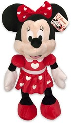 Disney Pluche Minnie Mouse met Hartjes 65cm