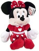 Disney Pluche Minnie Mouse met Hartjes 43cm-2
