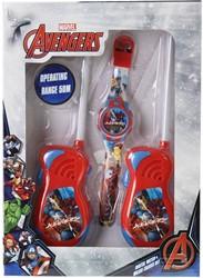 Marvel Avengers walkie talkie bereik +/- 50mtr. (Incl Horloge)