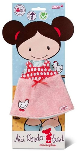 Nici Wonderland Poppenkleding Pluche kleed voor 30cm Pop