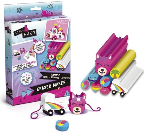 Style 4 Ever Navulverpakking Gum voor Eraser Maker assorti