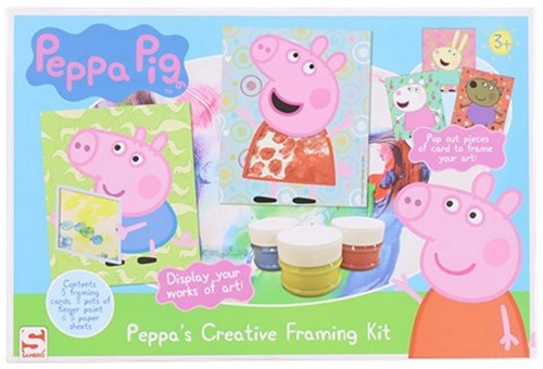 Peppa's Creative Framing Kit 20x30cm