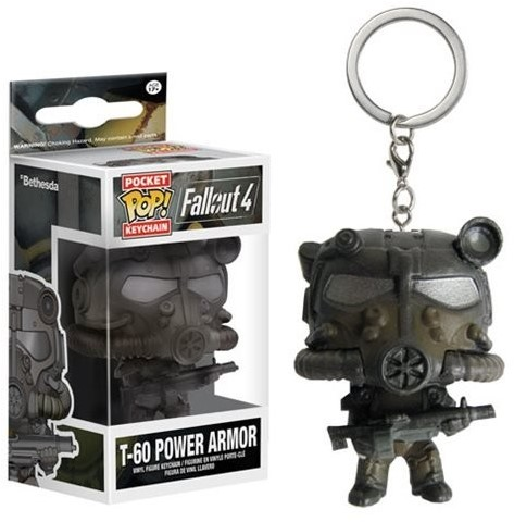 POP! Keychain Fallout T60 Power Armor