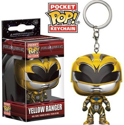 POP Keychain Power Rangers Yellow Ran