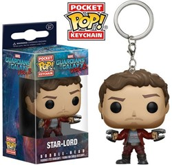 Pocket POP Keychain GOTG2 Star CDU12