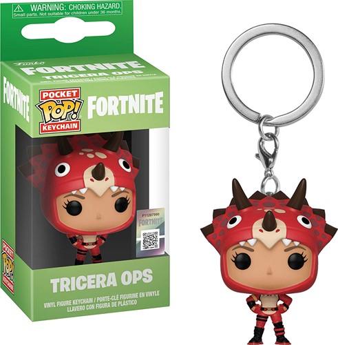 POP! Keychain Fortnite Tricera Ops