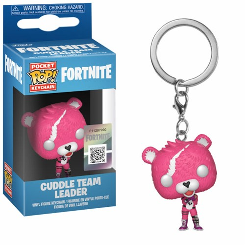 Funko Pop Keychain Fortnite S1 Cuddle Team Leader CDU 12