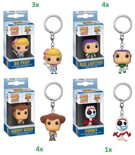 POP! Keychain Toy Story 4 assorti