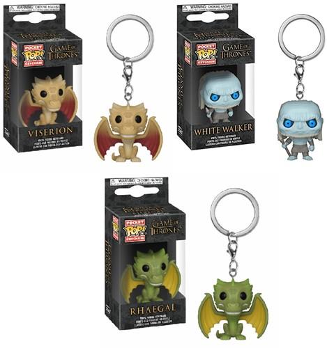 POP! Keychain Game of Thrones S10 CDU 12 3 assorti