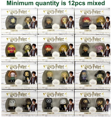Harry Potter Stempel assorti in window box 2-pack