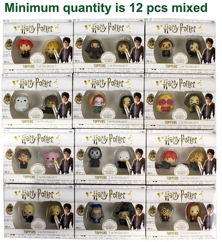 Harry Potter Pen Topper assorti in box 2-pack
