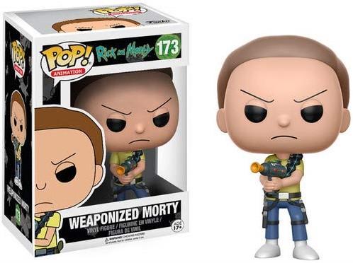 POP! Rick & Morty Weaponized Morty