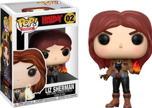 POP! Comics Hellboy Liz Serman