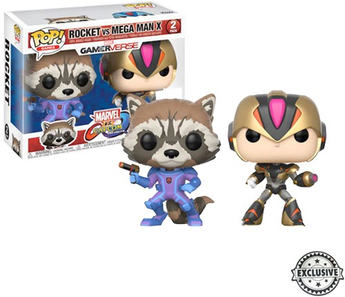 POP! MvC 2-Pack Rocket(BUPU)/Megamn