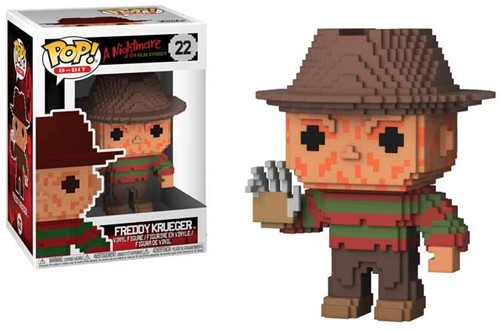 POP! 8Bit Horror Freddy Krueger