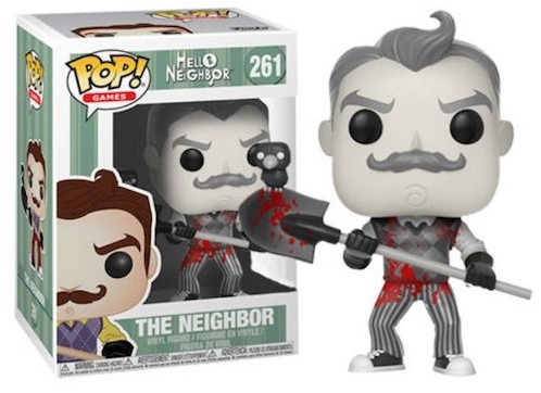 POP! Games Hello Neighbor B&W w blood