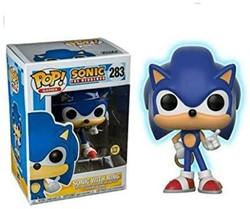 POP! Games Sonic Sonic w/Ring (GITD)
