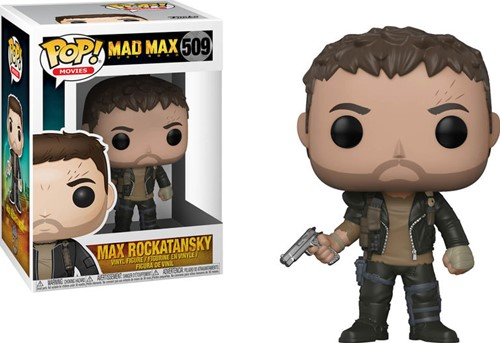 POP! Mad Max Fury Road Max with Gun