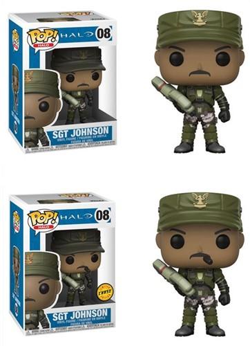 POP! Halo Sgt Johnson