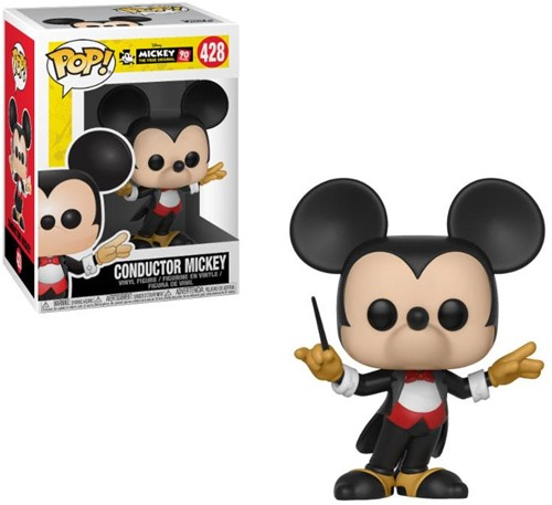 POP! Disney Mickey Mouse 90th Anniversary Mickey Mouse (Conductor Version) (JP)