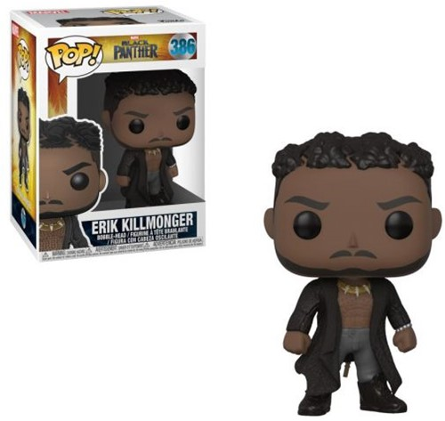 POP! Black Panther Killmonger with Scars
