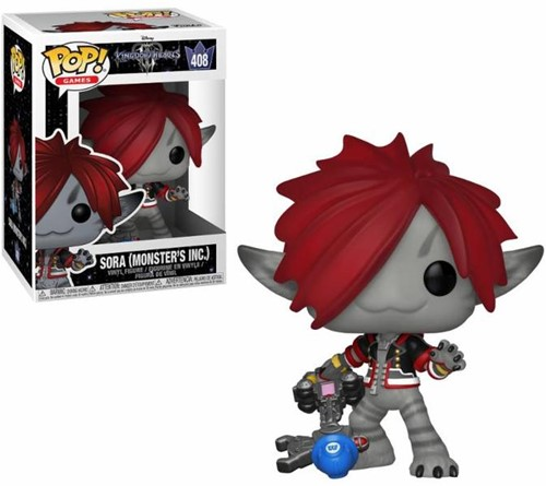 POP! Disney Kingdom Hearts Sora (Monster's Inc.)