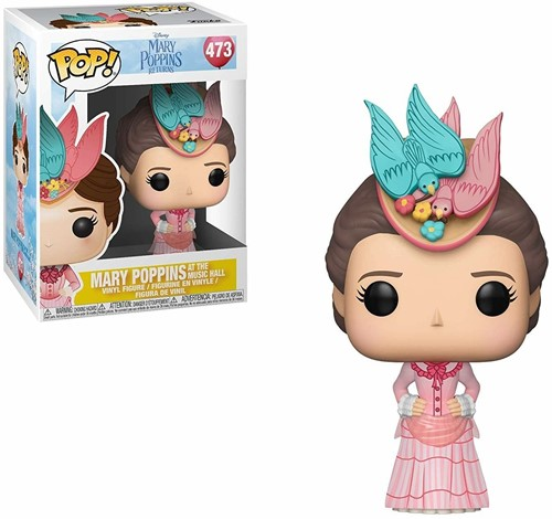 POP! Mary Poppins Mary Pink Dress
