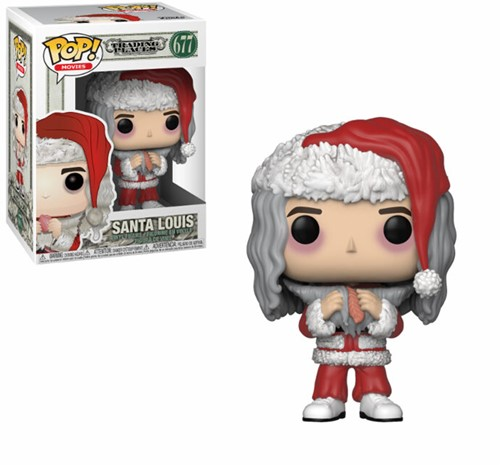 POP! Trading Places Santa Louis with Salmon