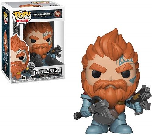 POP! Games Warhammer 40K-Space Wolves Pack Leader