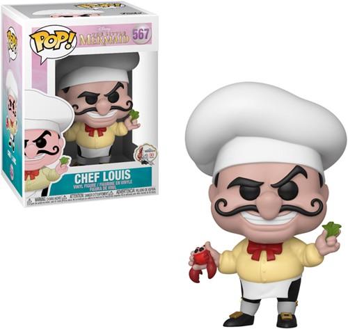 POP! Disney Little Mermaid Chef Louis
