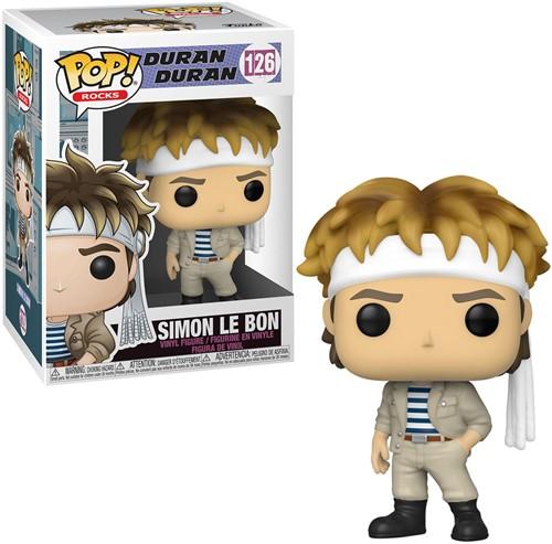 POP! Rocks 126 Duran Duran Simon Le Bon