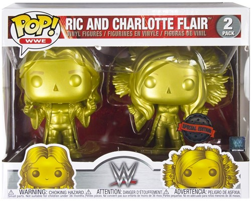 POP! WWE RIC & Charlotte 2-Pack Exclusive