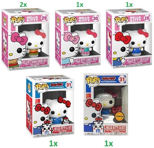 POP! Hello Kitty S2 4 assorti + Chase
