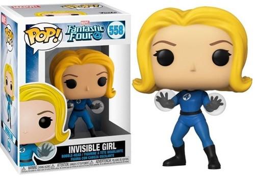 POP! Marvel Fantastic Four 4 Invisible Girl