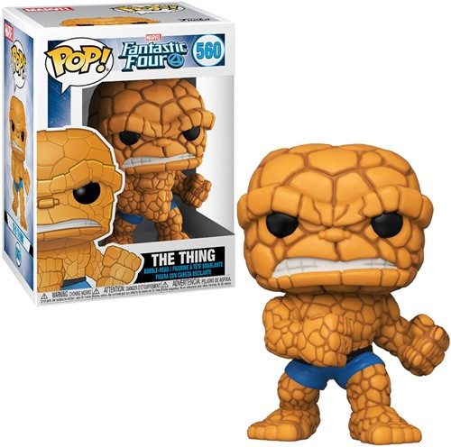 POP! Marvel Fantastic Four 4 The Thing