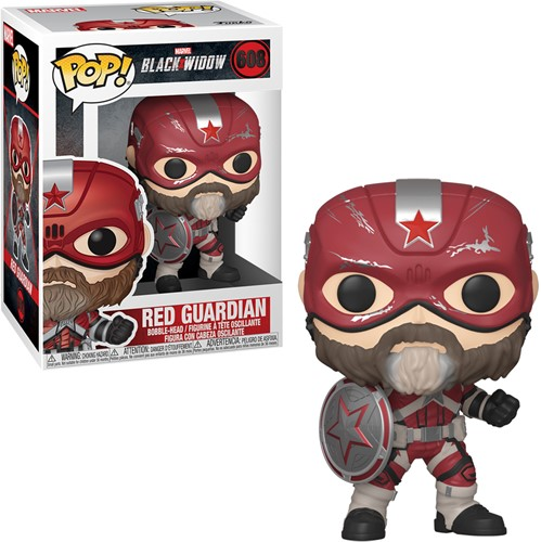 POP! Marvel Black Widow Red Guardian (JP)