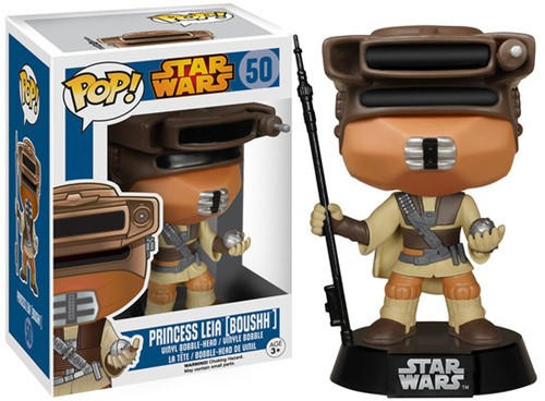 POP! Star Wars Boushh Leia