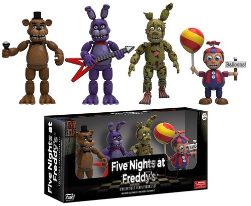 Funko Action Fig Five Nights At Freddy's 4-Pack