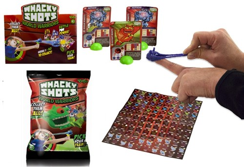 Whacky Shots World Warriors assorti