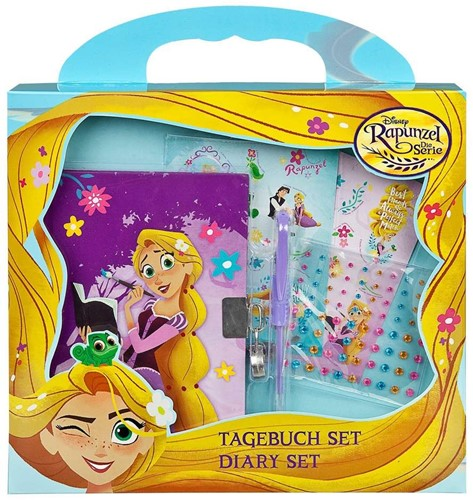 Disney Rapunzel the Serie Dagboekset met accessoires 24x26cm