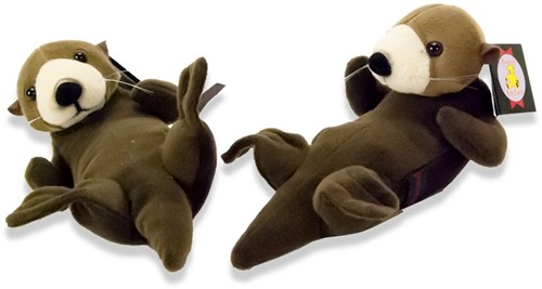 Pluche zeeotter 18cm