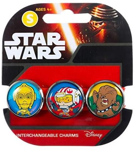 Star Wars armband met 3 vervangbare Charms Pop 3CB
