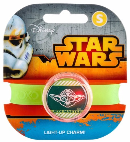 Star Wars Light Up Charm Band S Yoda