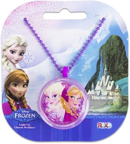 Disney Frozen Light Up Charm Nekketting Anna + Elsa