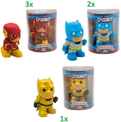 Ooshies DC Comics Collectables 3 assorti 12cm