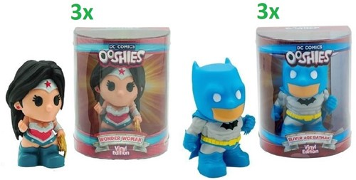 Ooshies DC Comics Collectables 2 assorti 12cm