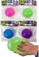 Glitter Slime Ball 4 assorti 10cm