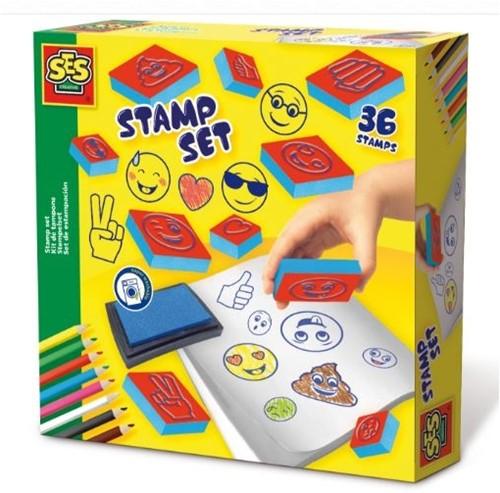 SES Stamp Set 36 Stamps 20x20cm