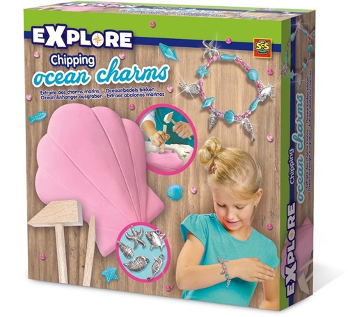SES Excavate Ocean Charms Oceaanbedels Bikken 20x20cm