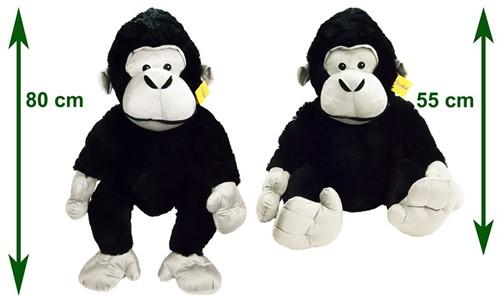 Pluche Gorilla 80cm (Sunkid)